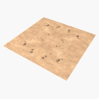 desert terrain 3d max