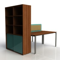 table office 3d max