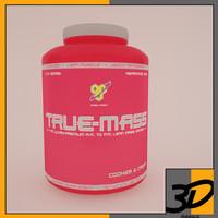 3d true mass model