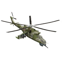 3d mi-24 helicopter model