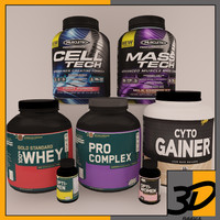 3d model supplement pack 3