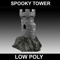 maya spooky castle tower