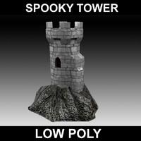 maya spooky castle tower