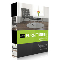 volume 25 furniture iii 3d max