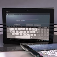 3d sony xperia tablet s model
