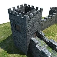 3d castle games