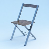 3ds max chair modeled