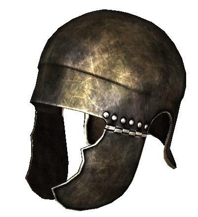 simple attic helmet