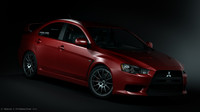 Mitsubishi Lancer Evo x 2nd Edition(Maya only)