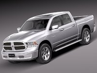 2012 2013 dodge pickup 3ds