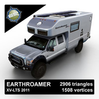 2011 earthroamer xv-lts 3d model