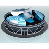 lounge building 3d model