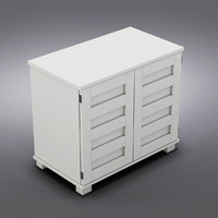 Crate&Barrel - Incognito White Compact Office