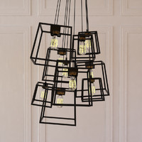 3d large frame light cluster model