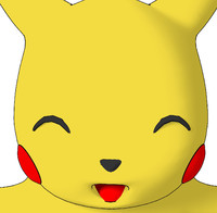 pikachu 3d lwo