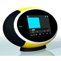 radio pure sensia 3d model