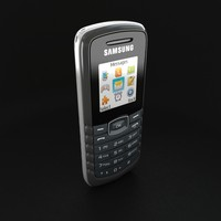 3d model cell phone samsung e1081