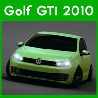 3d model golf 2010