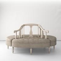 sofa borne rivoli max