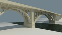 cornwall bridge 3d 3ds