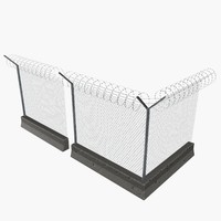 Fences Concrete & Wire Modular