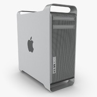 3d model of apple mac pro 12