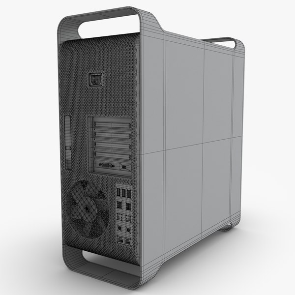 3d model of apple mac pro 12 - Apple Mac Pro 12 core 2012... by NiceModels