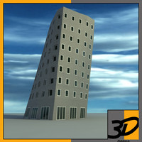 3d model gehry tower building
