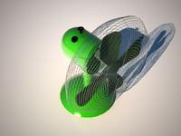 ventilateur 3d model
