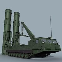 russian sa-12b 23b giant 3d obj