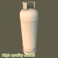 3dsmax propane gas tank big