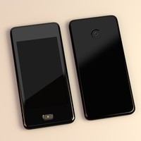 3d model generic touchphone
