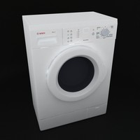 3d wash machine bosh