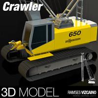 crawler 3d max