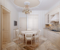 3d kitchen interior scene verona model