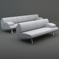 EJ 180-3 In Duplo Low sofa
