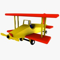 3dsmax airplane plane toy