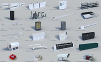 24Data Center Model Collection