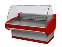 3d model of refrigeration pastry delicatessen
