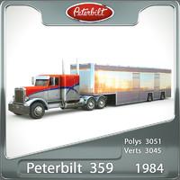 Peterbilt 359 (1984) semi truck