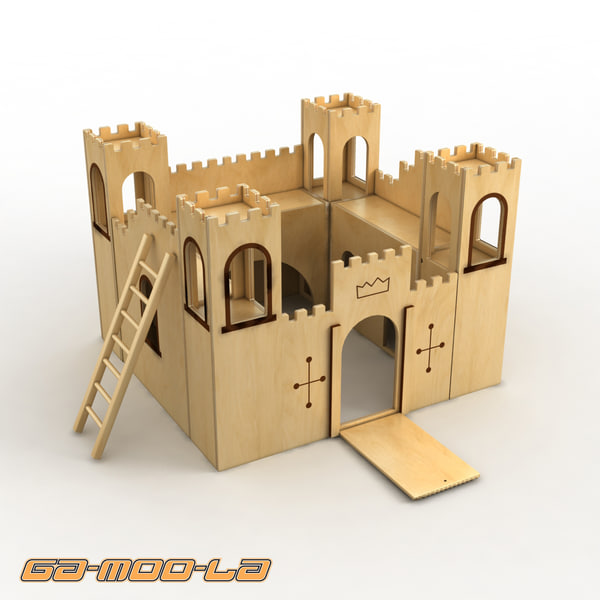 toy castle jigsaw max - Toy Castle Jigsaw... by gamoola