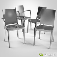 hudson chair philippe armchair 3d obj