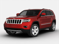 jeep car 3ds