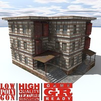 weathered house games c4d
