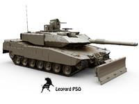 3d max leopard pso