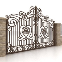 gate fence 3d 3ds