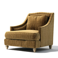 3d donghia - toulouse club chair