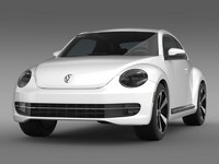 VW Beetle Turbo Black 2012