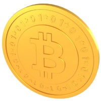 3d bitcoin digital currency model