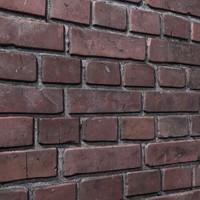 3d model brick wall 05